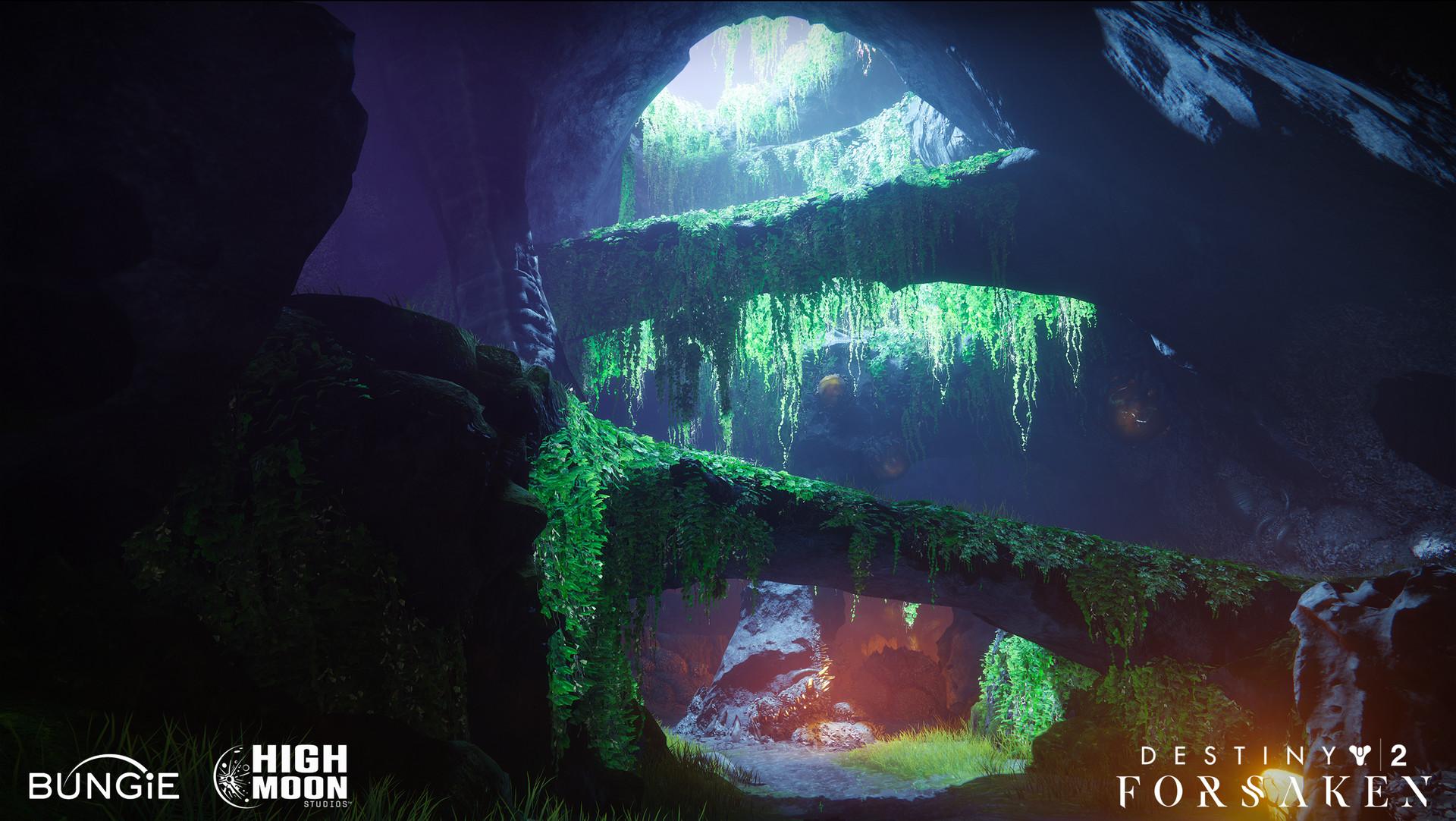 ArtStation - Destiny 2 Forsaken: Hellrise Canyon, Richard Rude