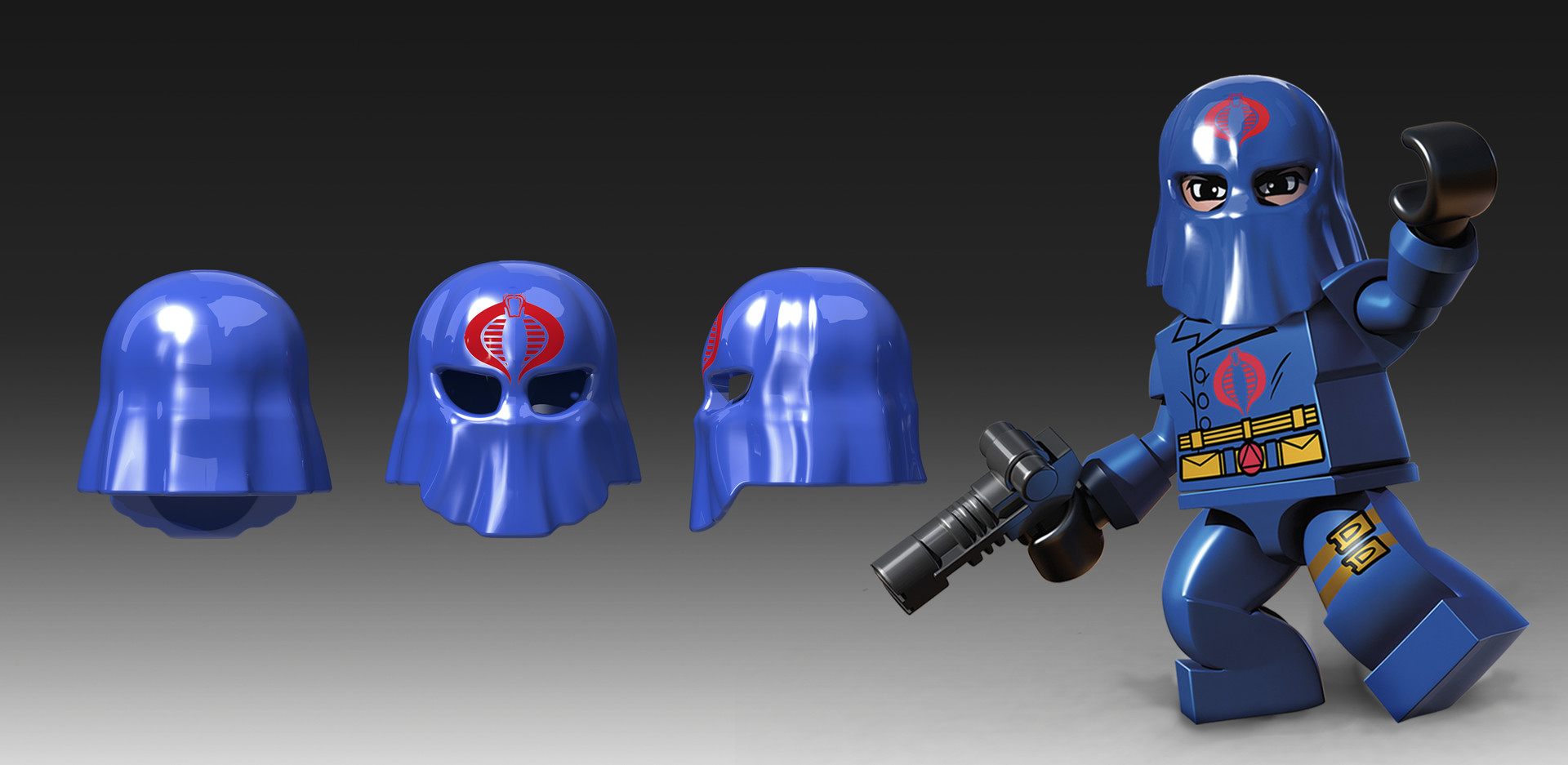 Marion wood cobra commander helmet