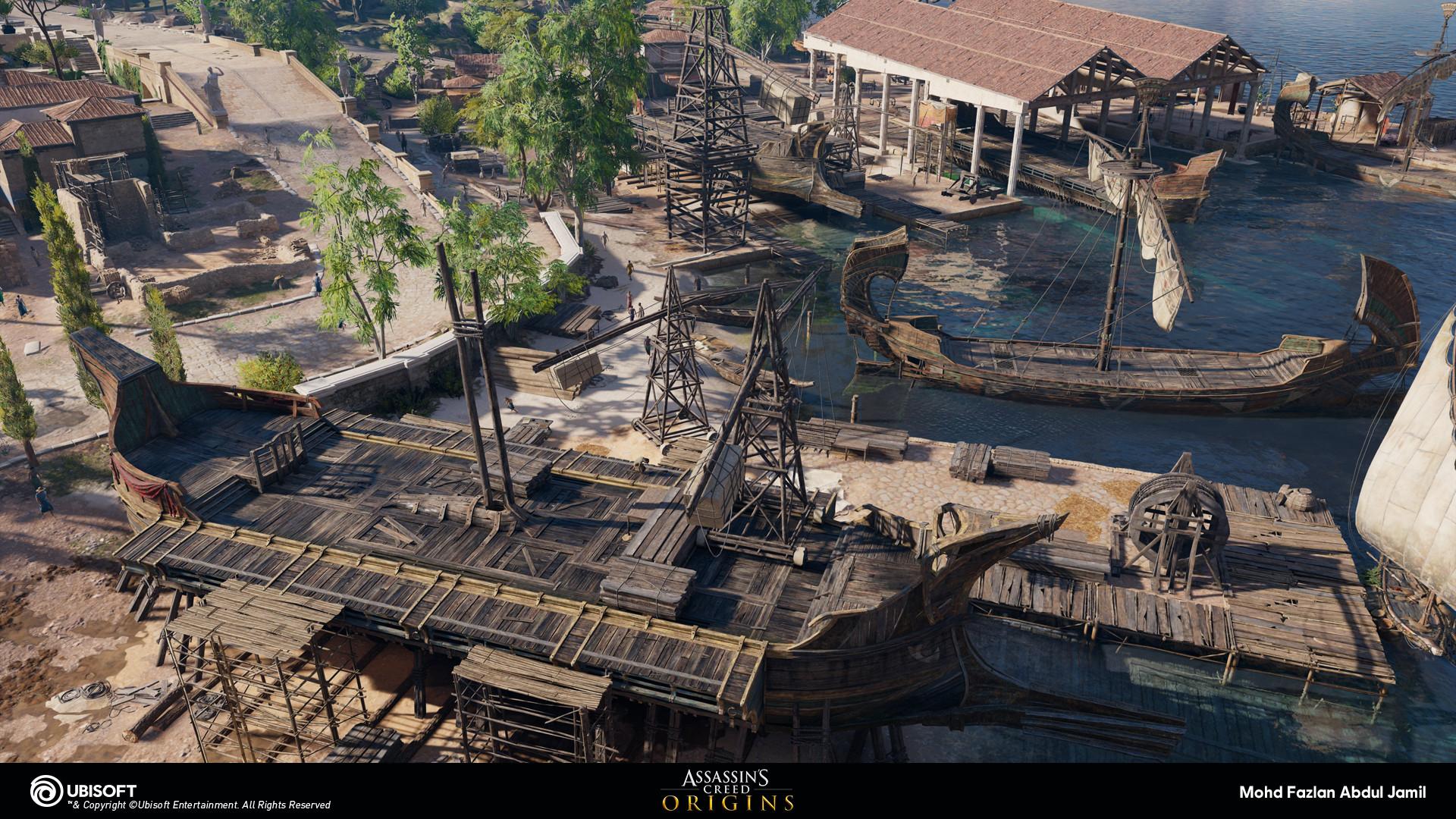Artstation Assassin S Creed Origins 2015 2017 Mohd Fazlan