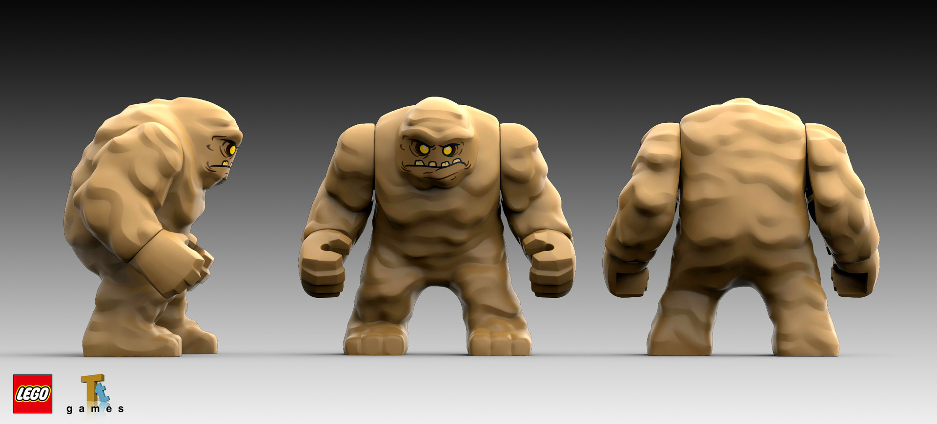 Marion wood clayface turn