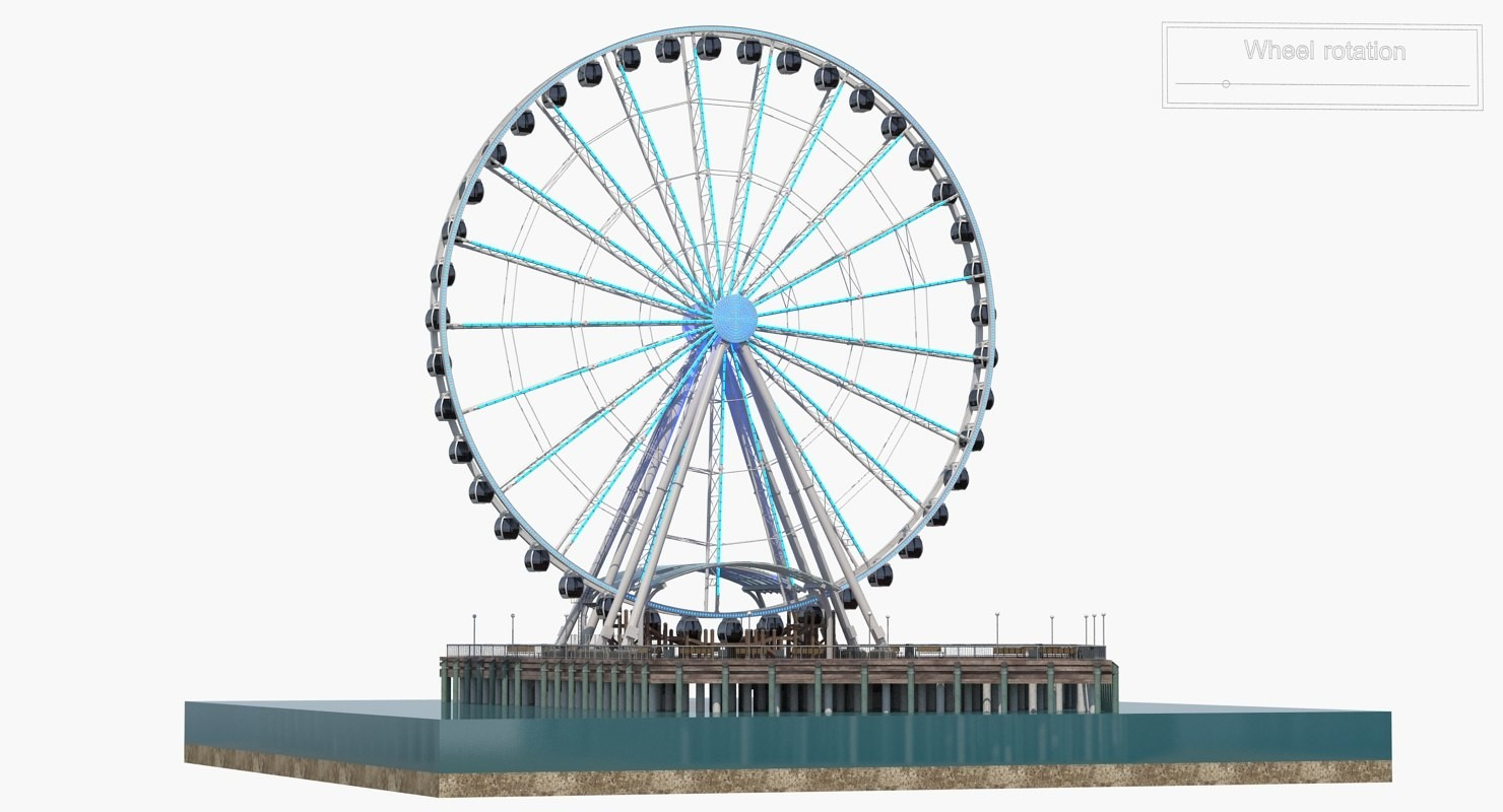 картинка колесо обозрения без фона