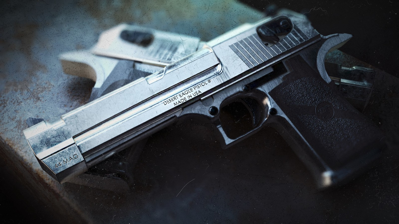 Desert Eagle rendered with Redshift.