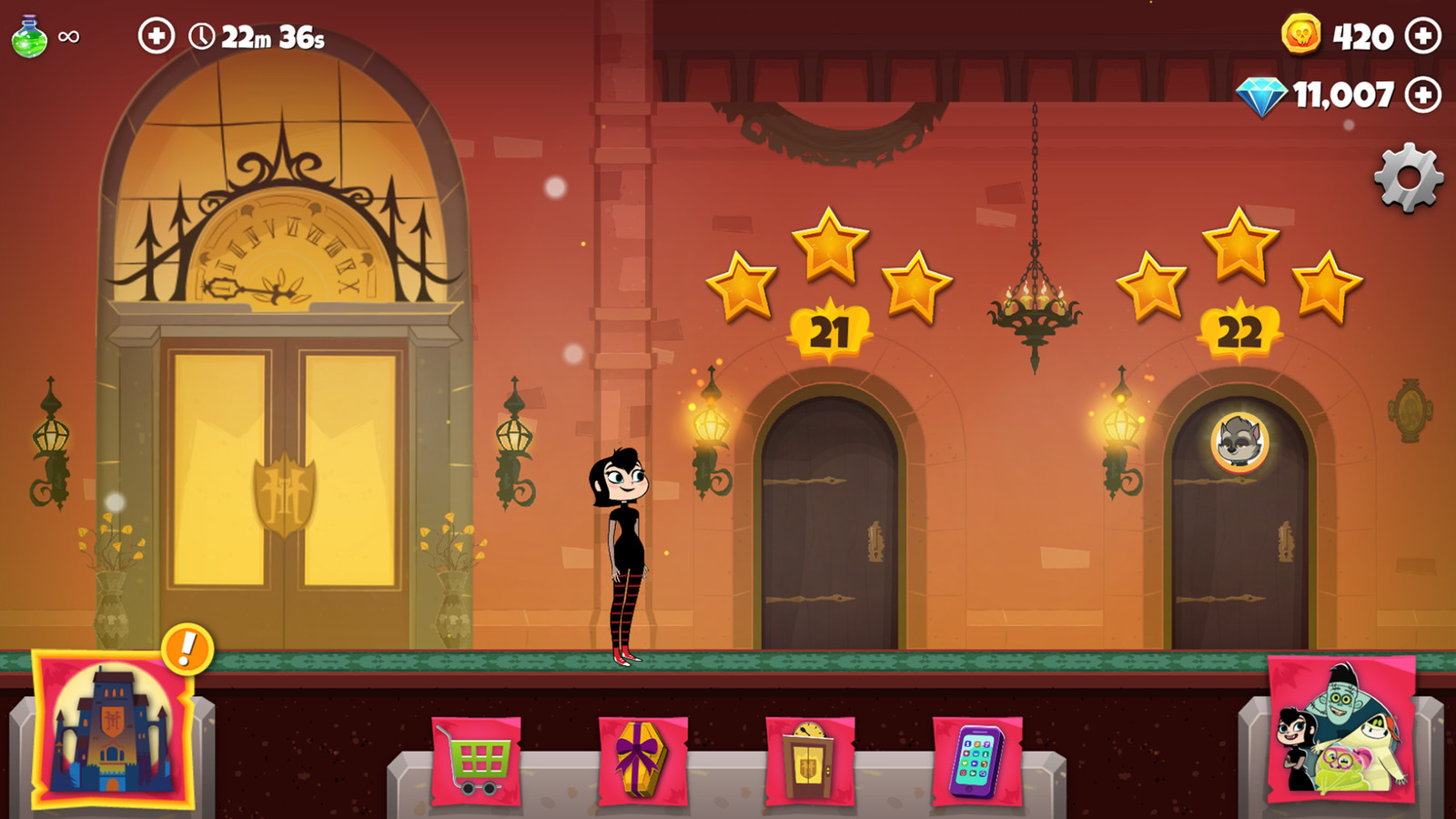 In Game Screenshot Characters: Me Environment assets: Kerri Targett  UI: Joanna Jakubowska