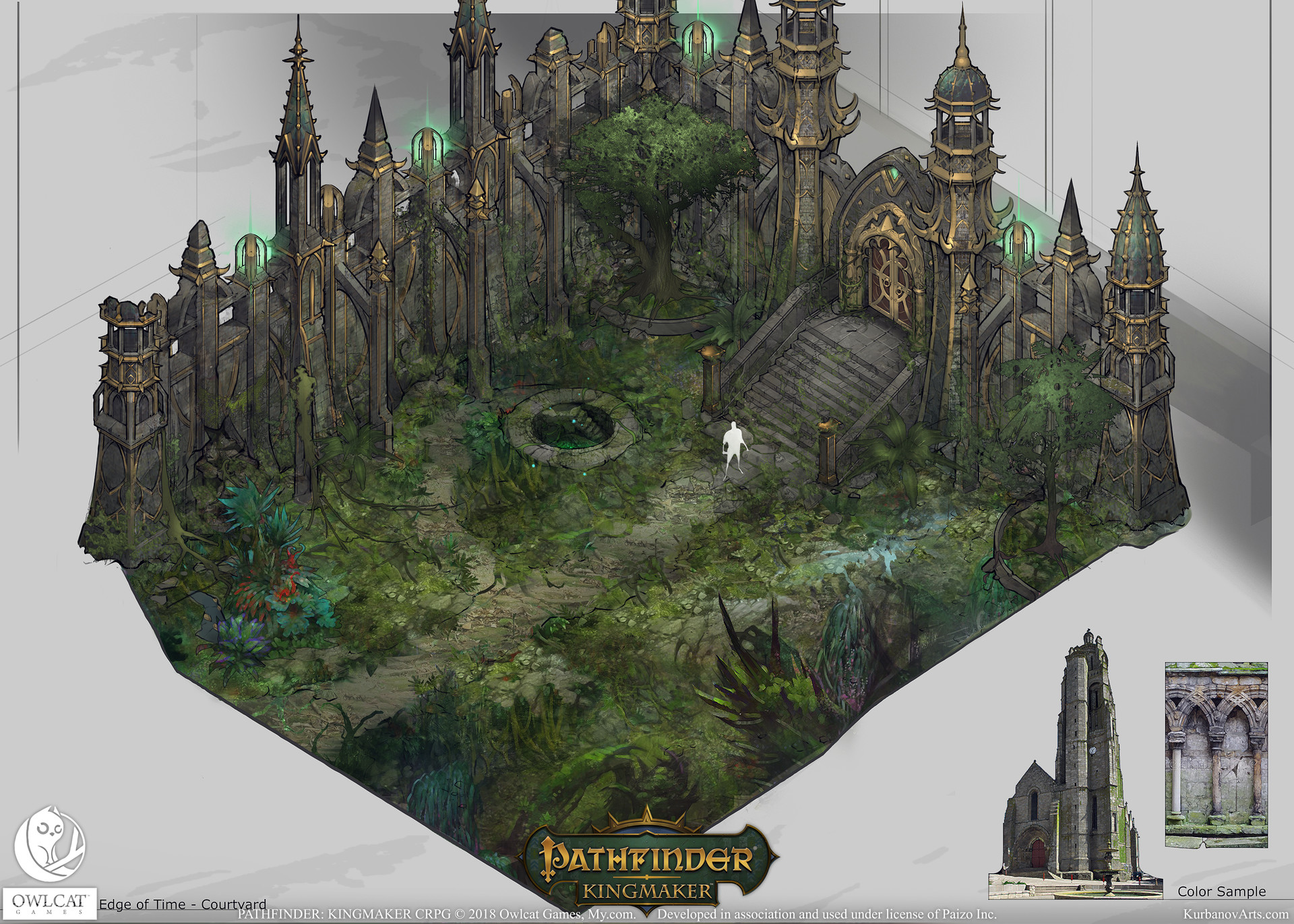 ArtStation - Pathfinder: Kingmaker - House at the Edge of