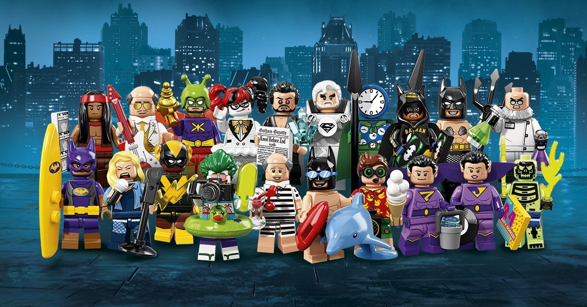 Marion wood lego batman movie minifigures series 2