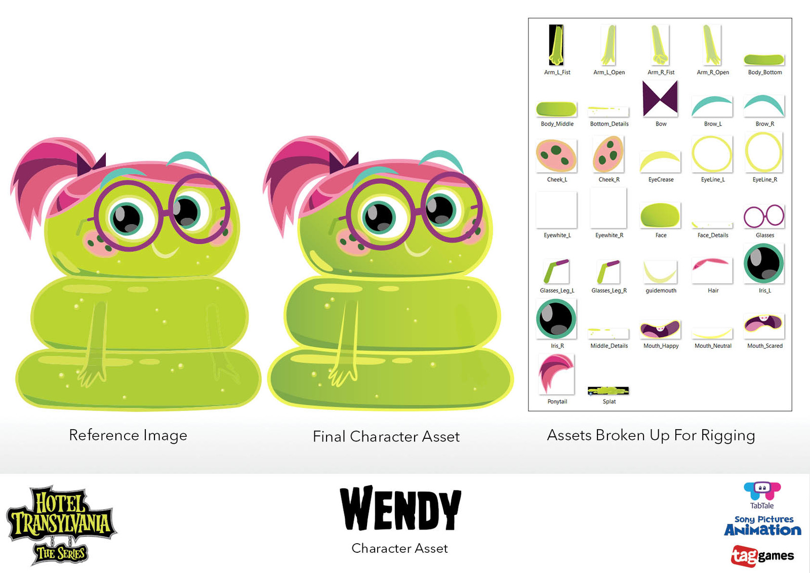 Character Assets - Wendy