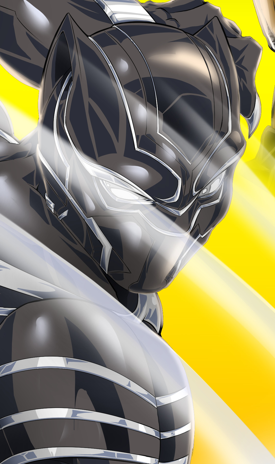 Robert e wilson black panther 2