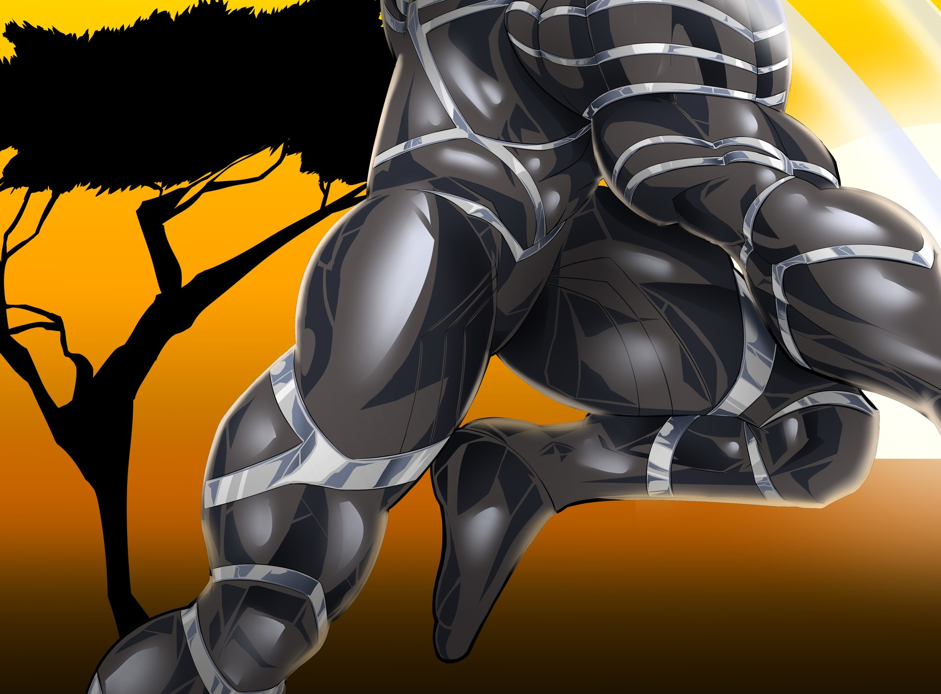 Robert e wilson black panther 6