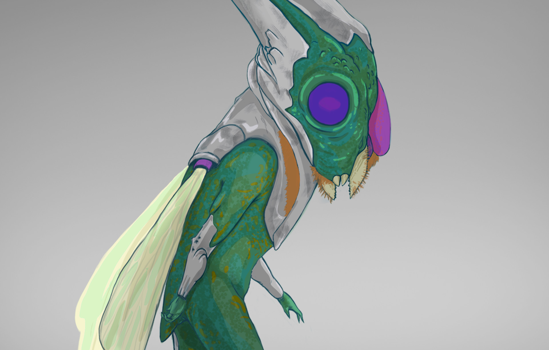 Italo gaspar alien macho 2