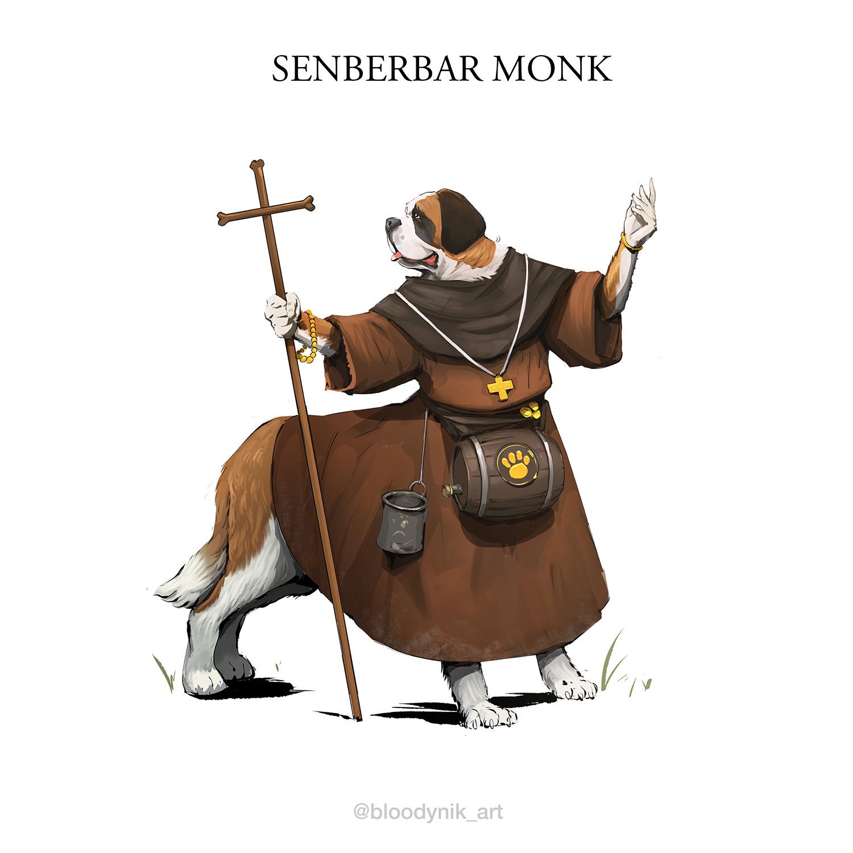 Nikita orlov senberbar monk