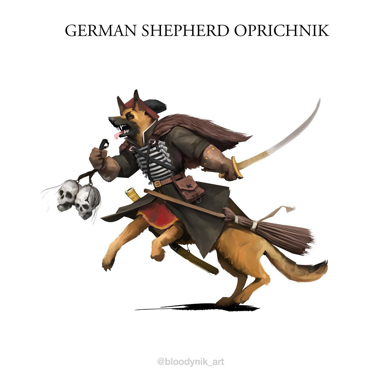 Nikita orlov german shepherd oprichnik