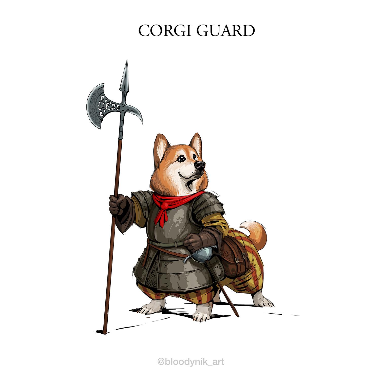Nikita orlov corgi guard