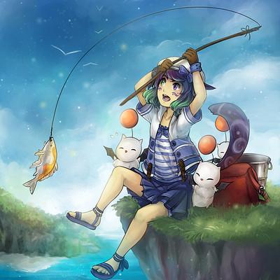Jessica wei commission dyalani fishing