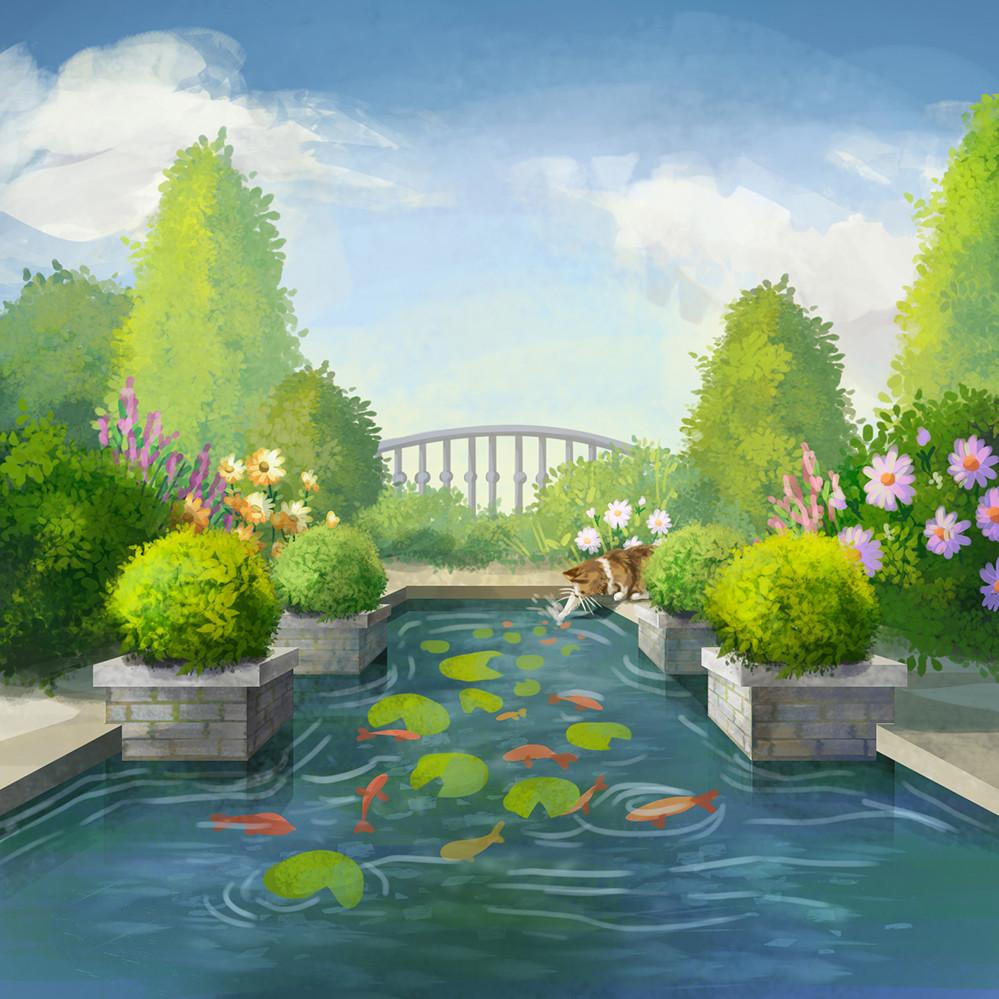 Agnieszka anez dabrowiecka outdoor fish pond