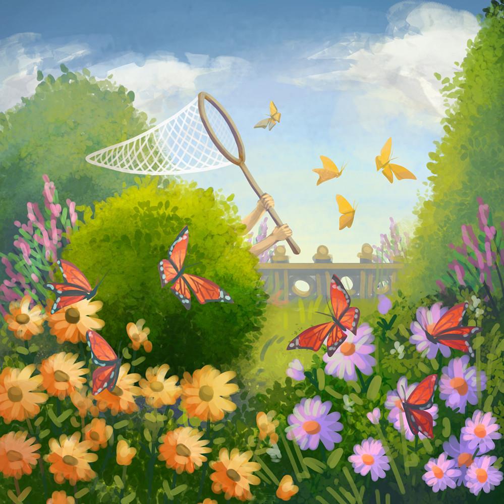 Agnieszka anez dabrowiecka outdoor butterfly garden
