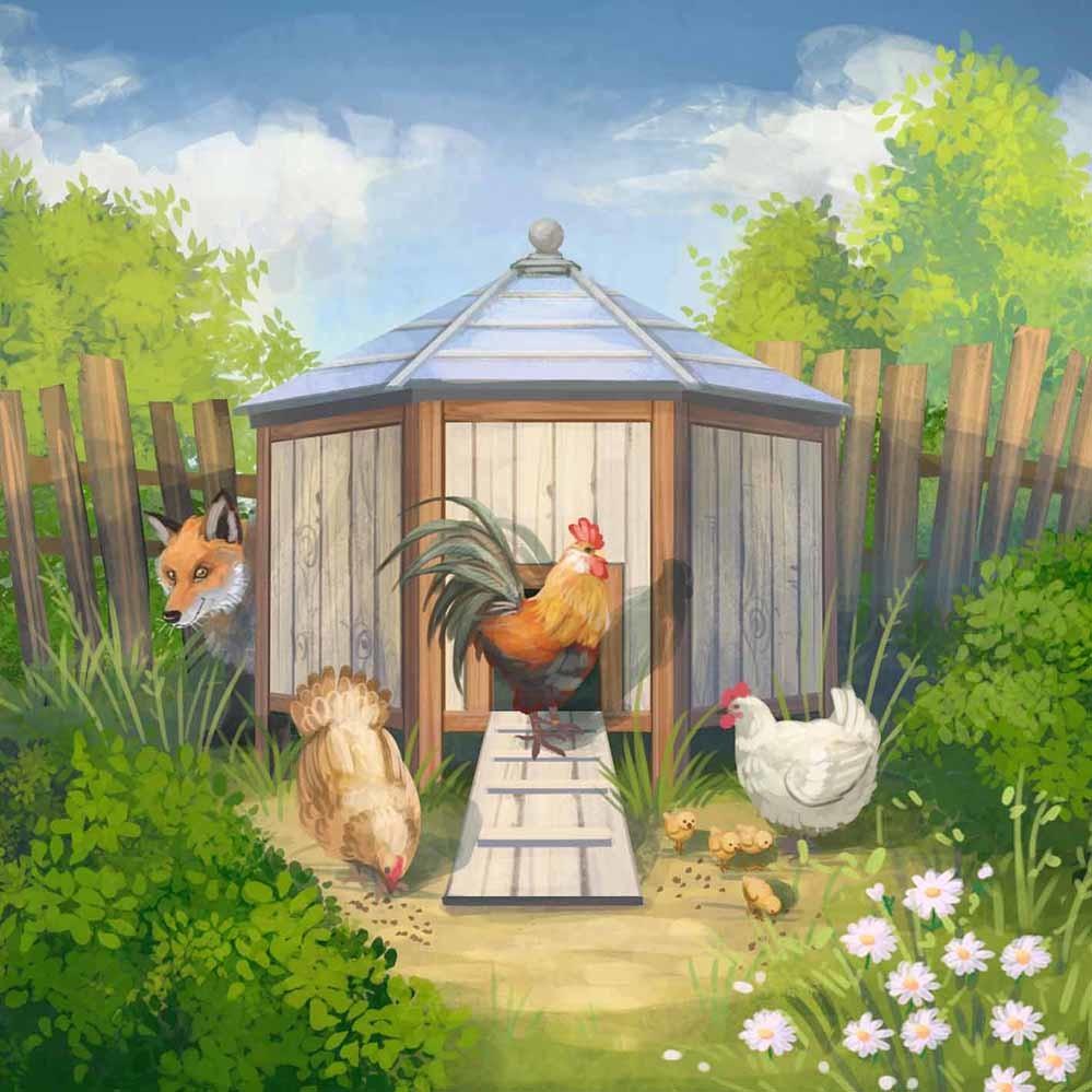 Agnieszka anez dabrowiecka outdoor chicken coop