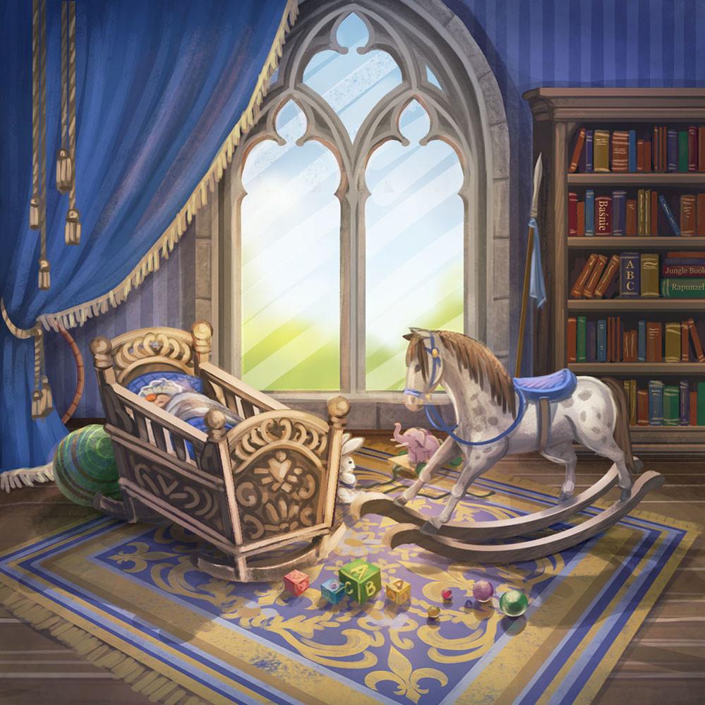 Agnieszka anez dabrowiecka sleeping nursery