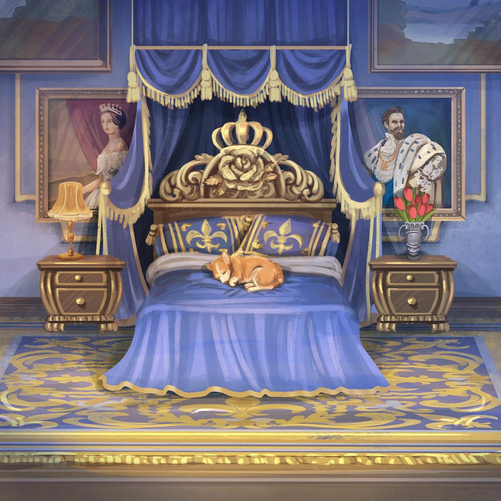 Agnieszka anez dabrowiecka sleeping queen s chambers