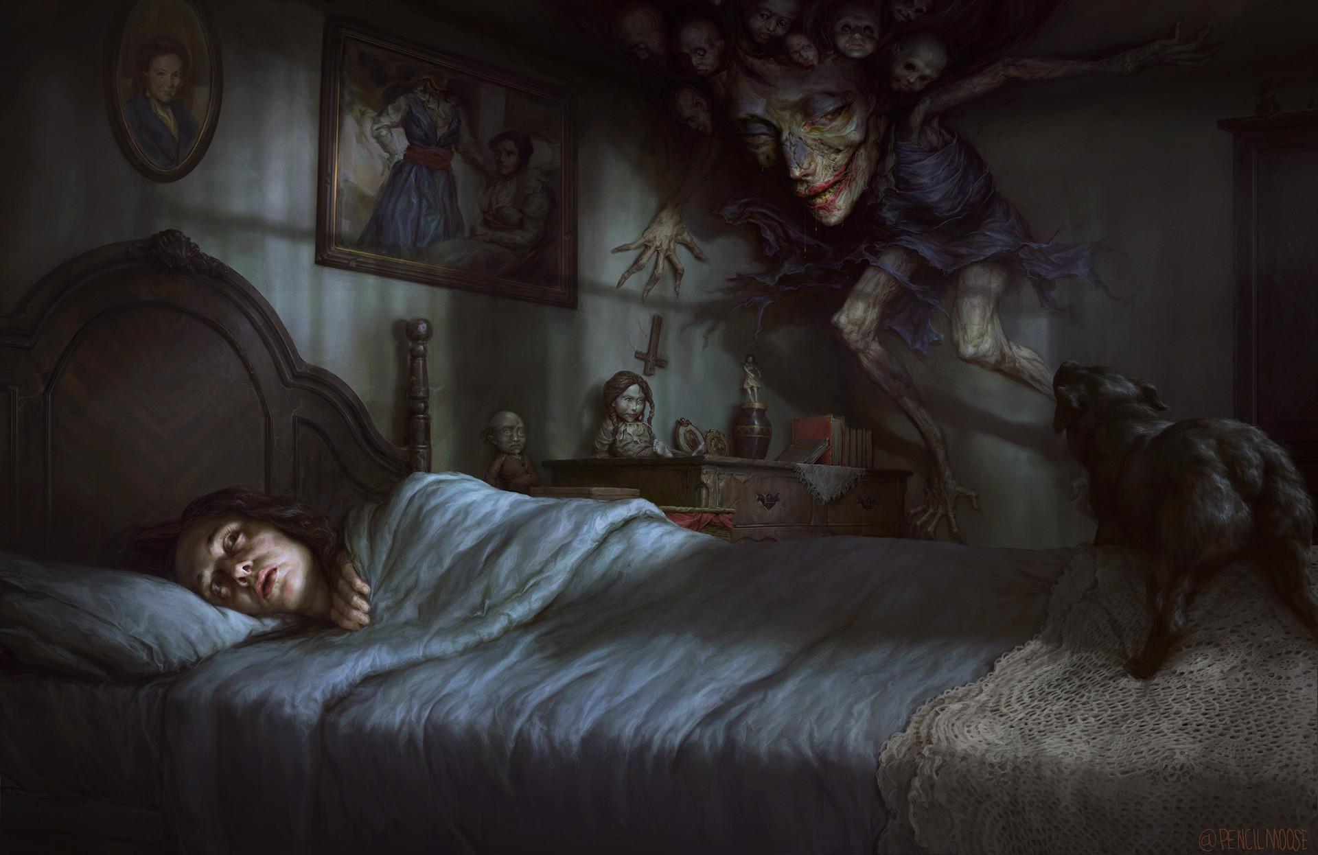 Картинки страшное пробуждение