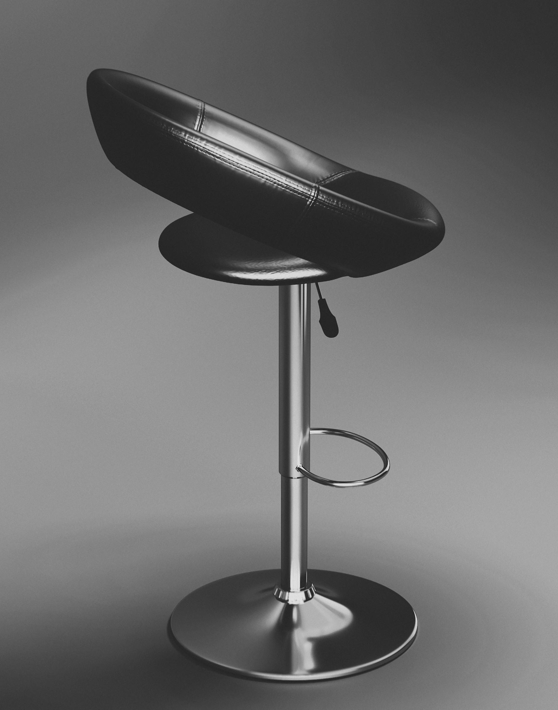 Elias s bar stool black 012 ae03