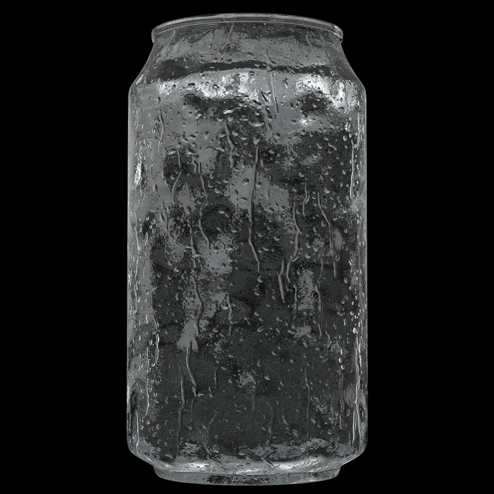 Ice shader on the can.