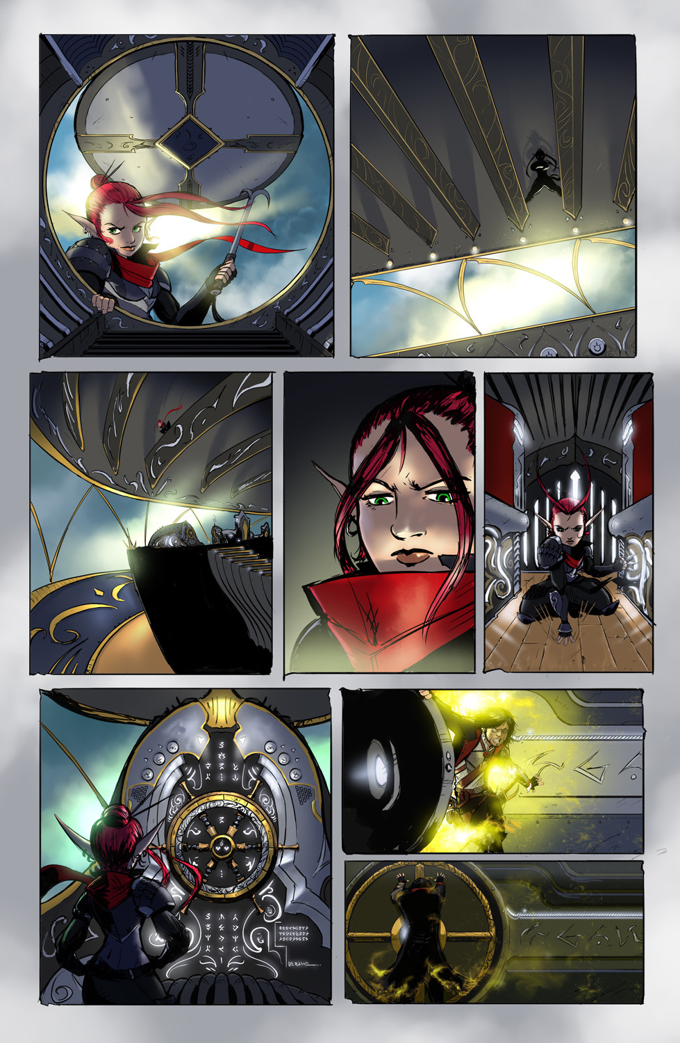 Michael rookard chapter1page4