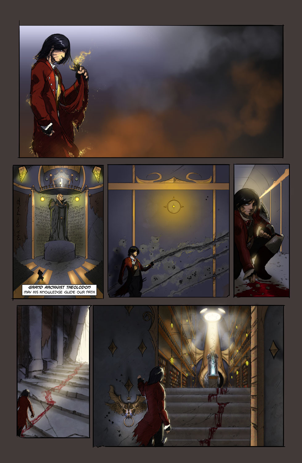Michael rookard chapter1page5