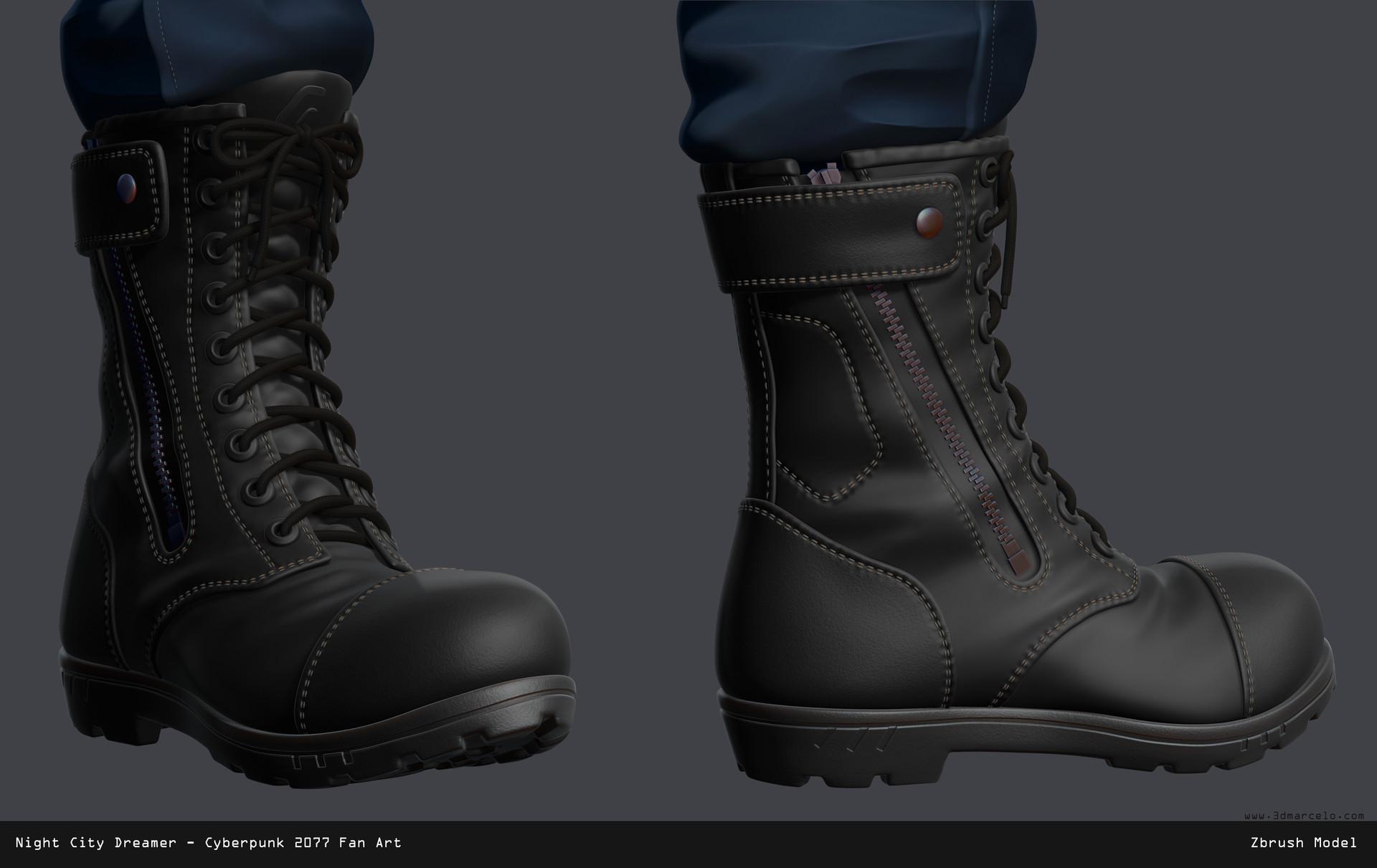 Marcelo m prado boots