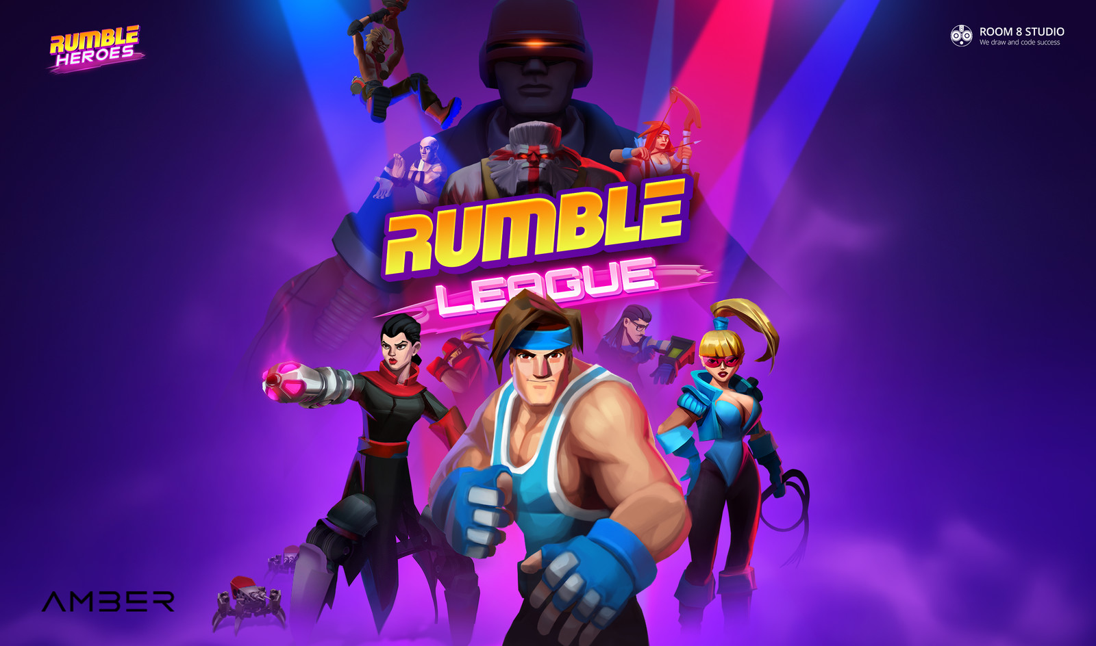 Rumble Heroes: Key Art
