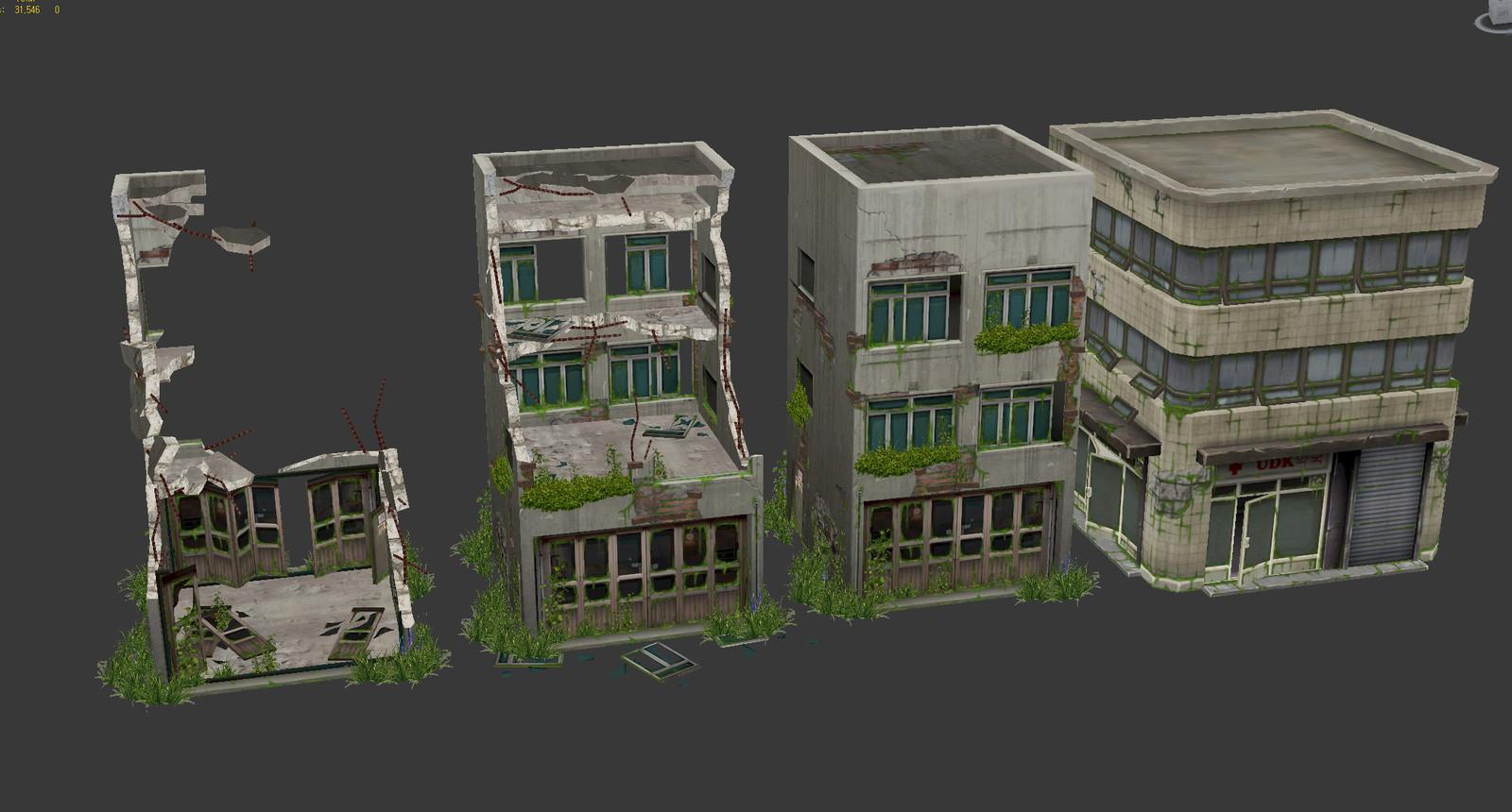 Broken building variations 1