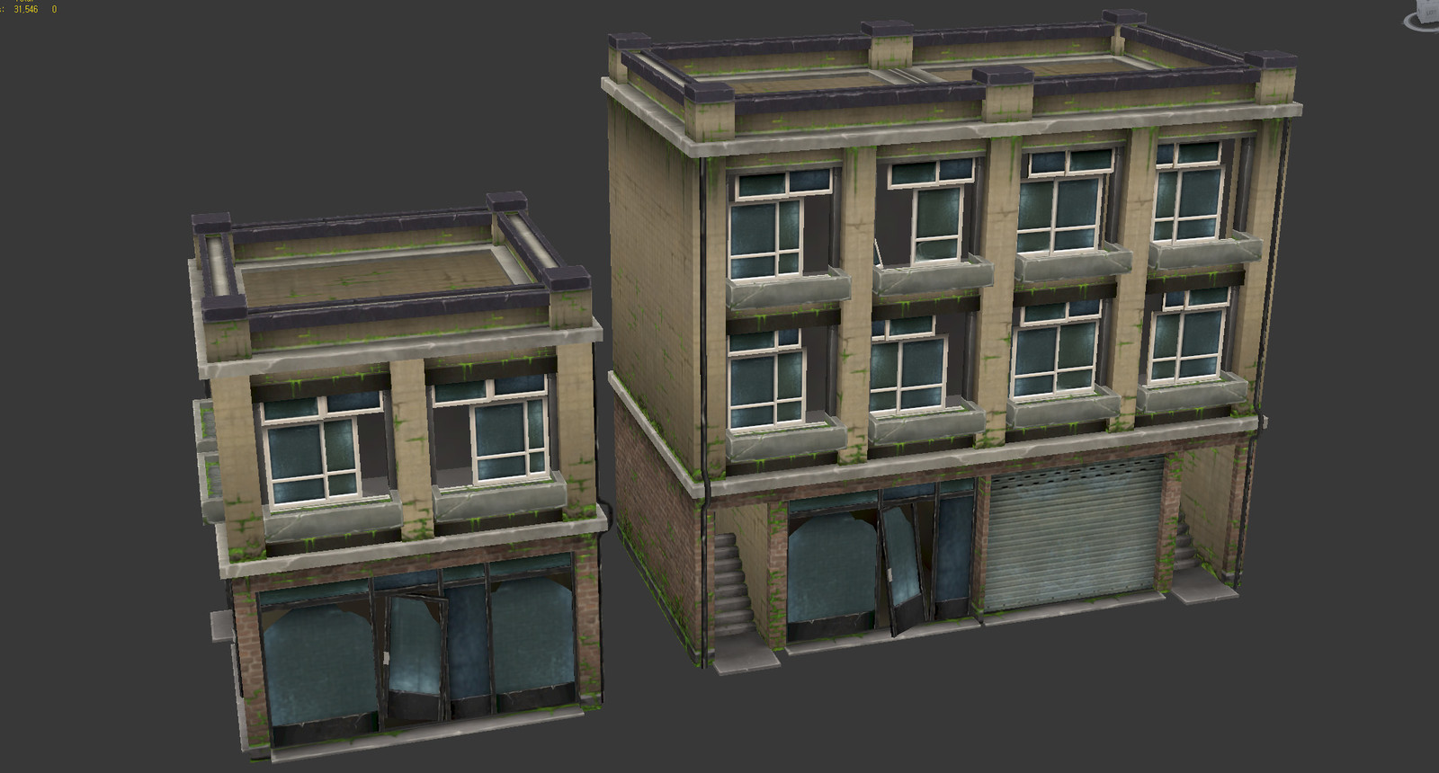 Broken building variations 2