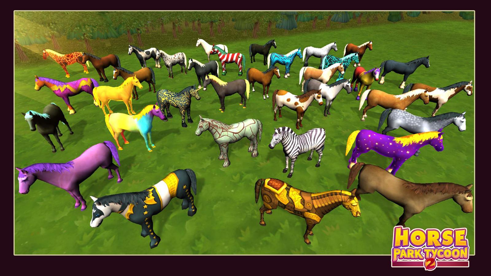 Horses skins