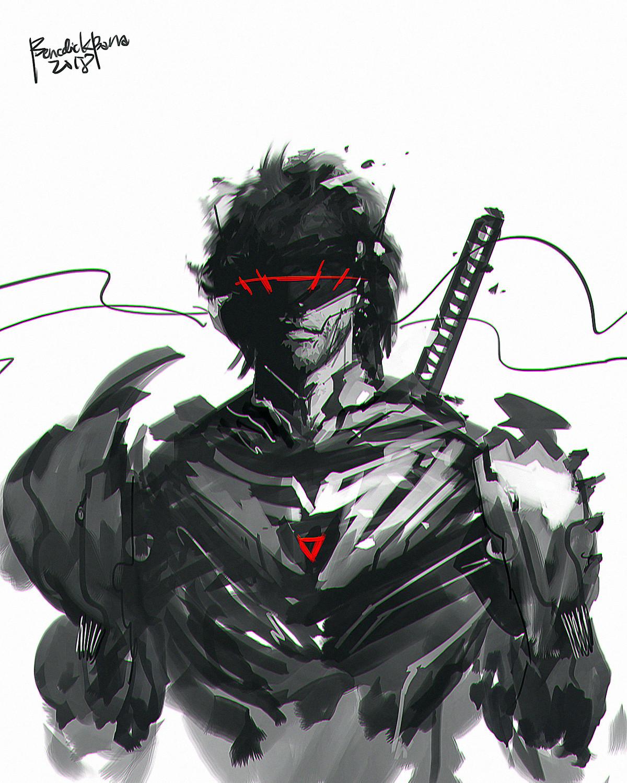 Benedick bana cyborg ninja xy lores