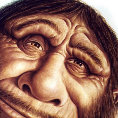 Character ark caveman