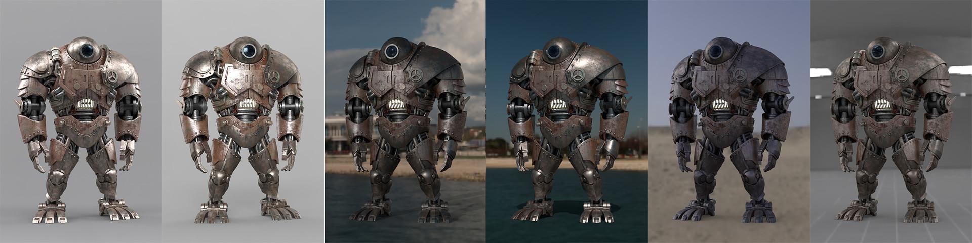 Carlos vidal baconandhams robot