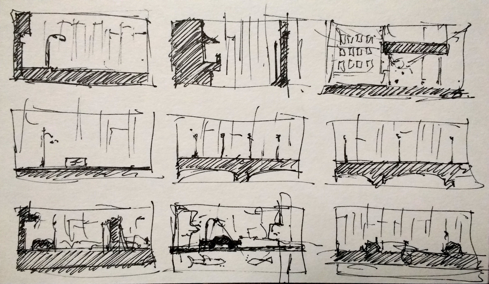 Thumbs - crude but good enough. Lower left chosen for comp.
