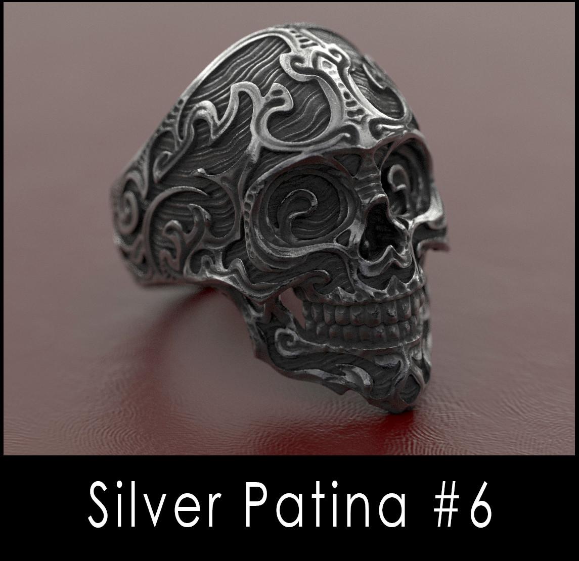 Nacho riesco gostanza silver patina n6