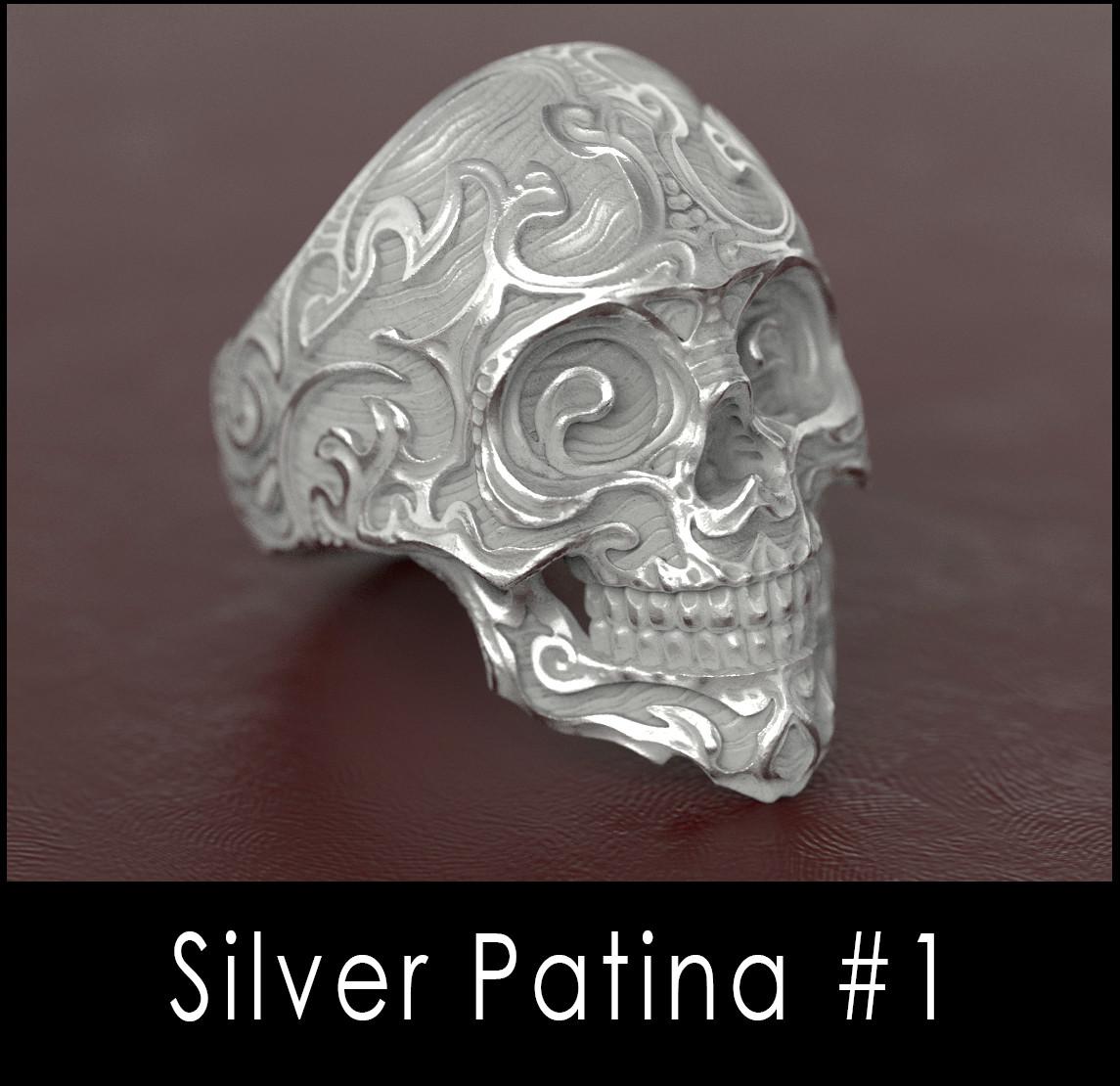 Nacho riesco gostanza silver patina n1