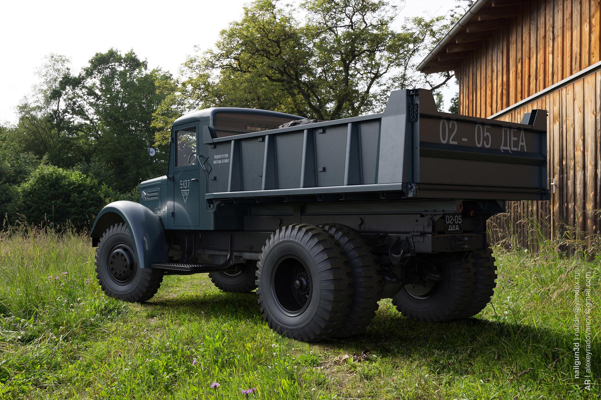 Nail khusnutdinov alg 034 010 maz 205 rear view 3x