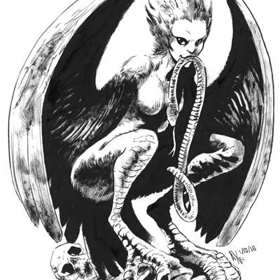 Axel medellin 2591 harpy