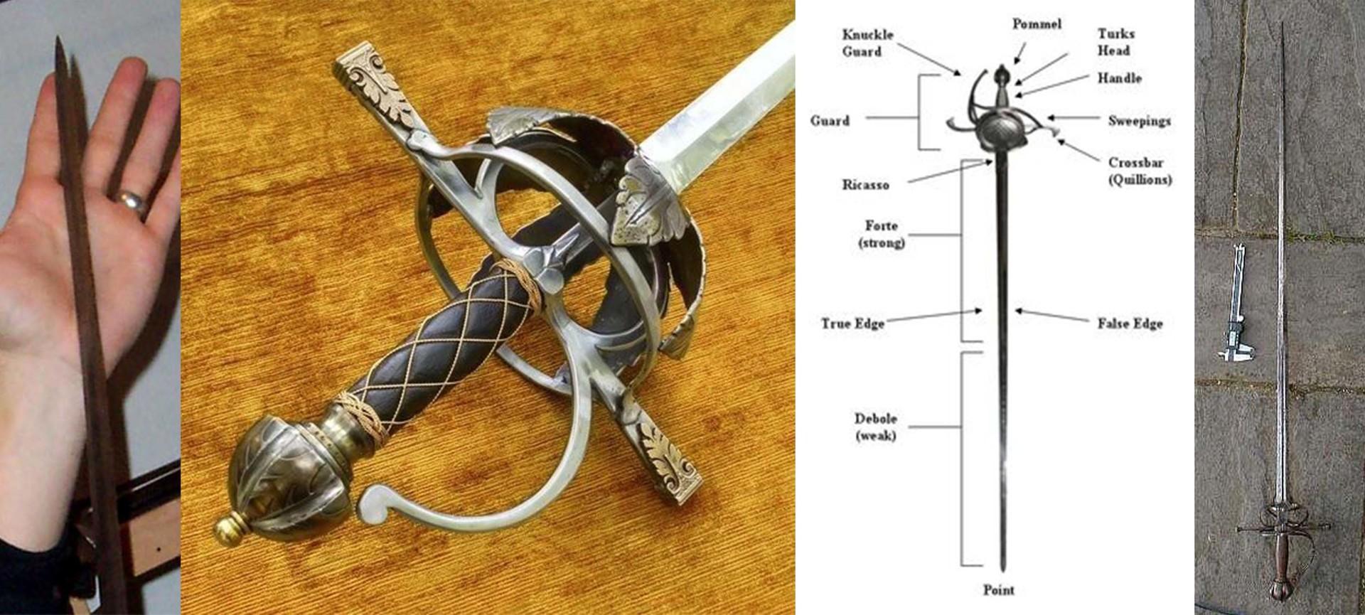 Oliver Fletcher Spanish Rapier Sword 1600 Wiring Diagram Spanishrapier Ref