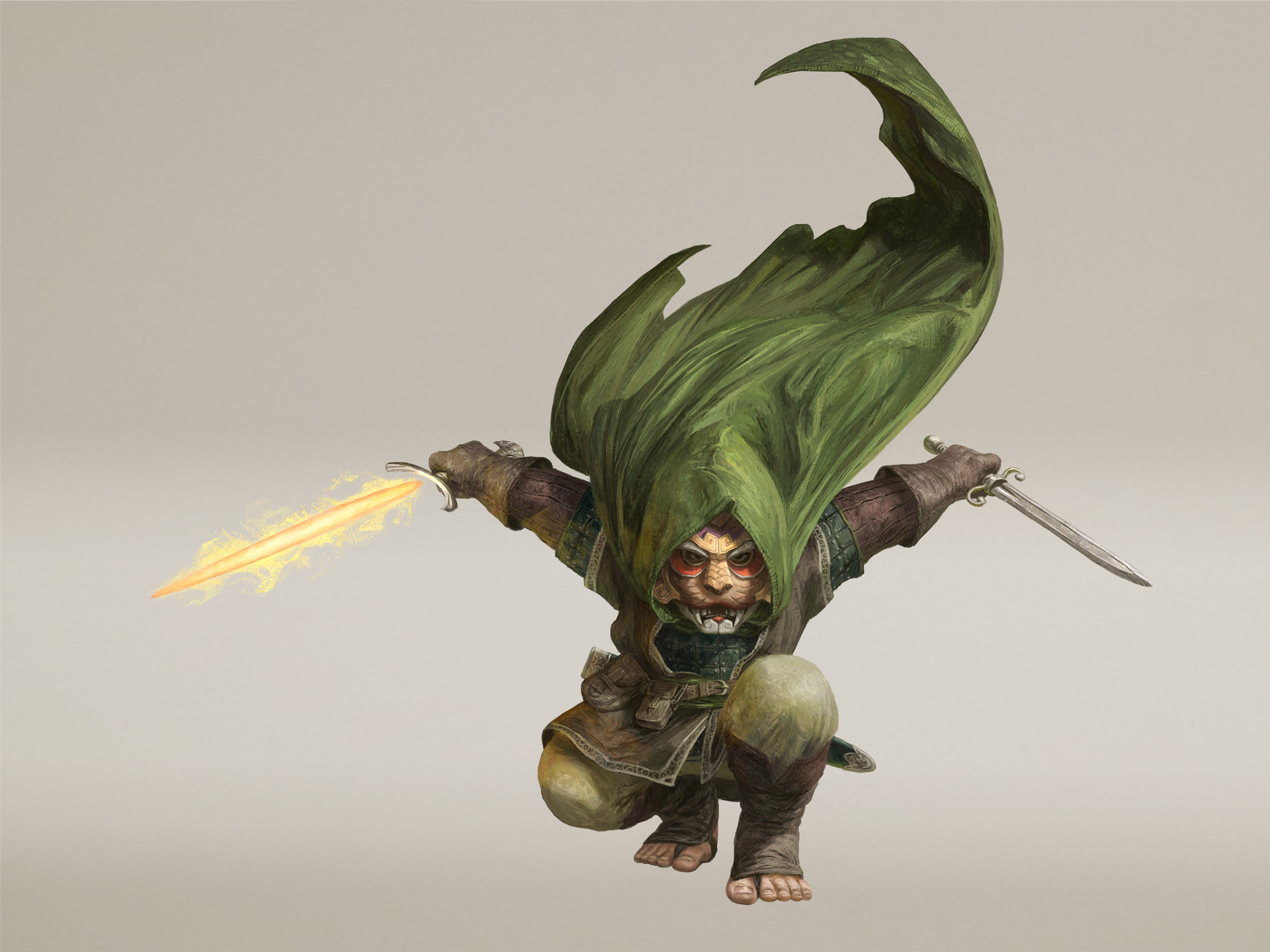 Artstation Halfling Rogue Commission Marco Gonzalez 1401 halfling rogue 3d models. artstation halfling rogue commission