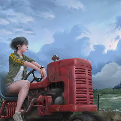 Tan kwang yang tanky tractor girl web