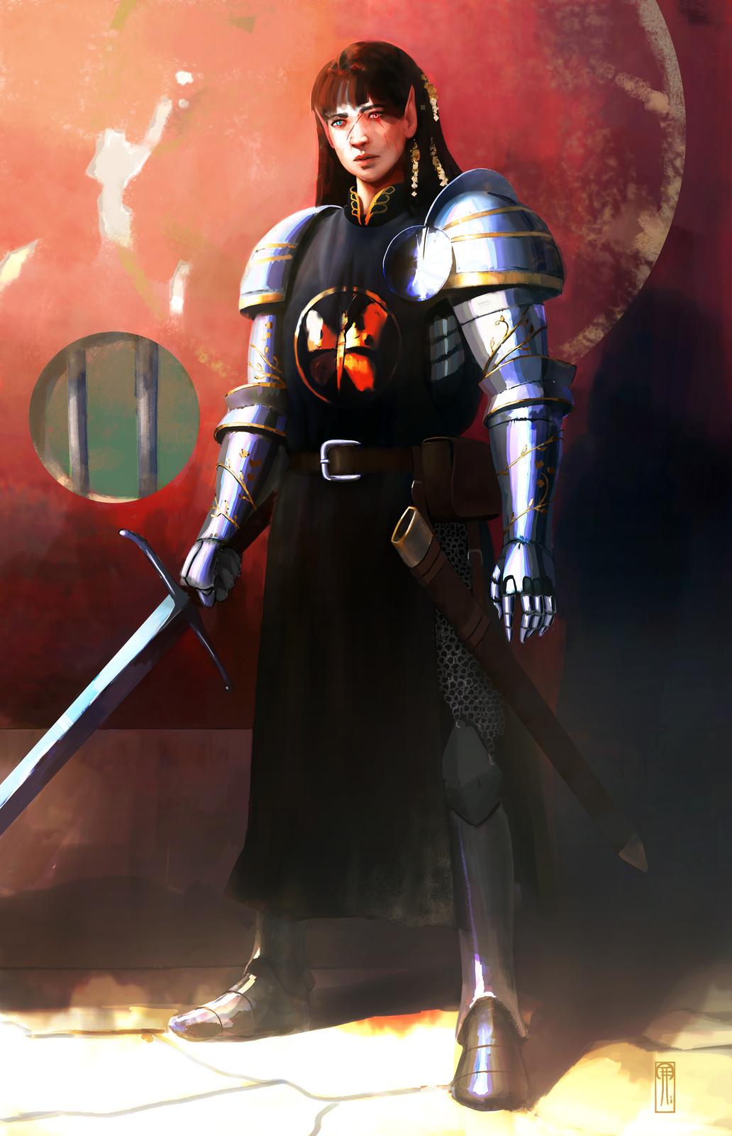 Fallen clan champion