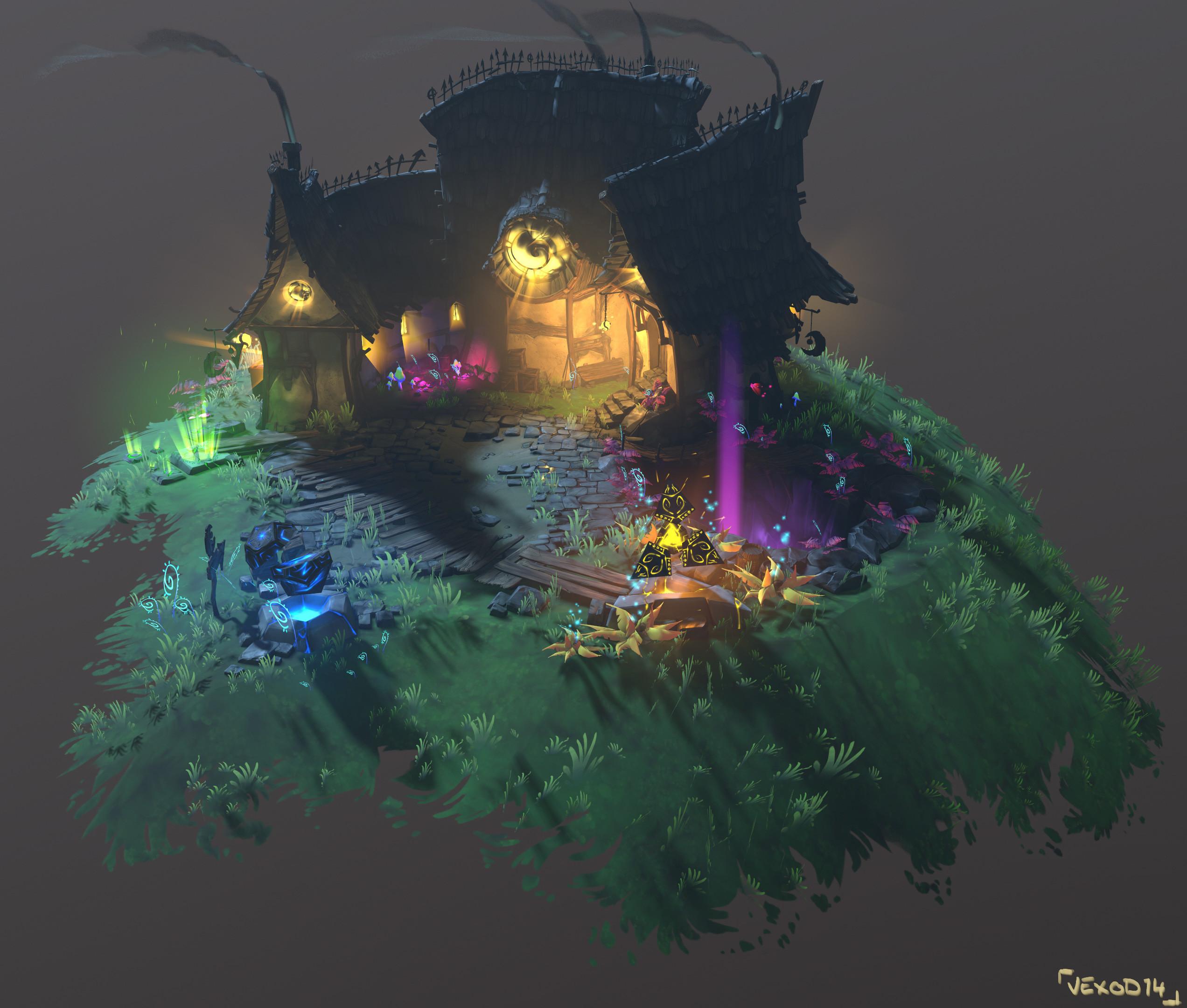Final 3D Model (screenshot 01)
