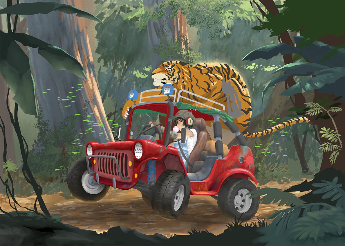 Tan kwang yang tanky no se jungle buggy wip 0008 no se color illustration jungle buggy wip08 jpg