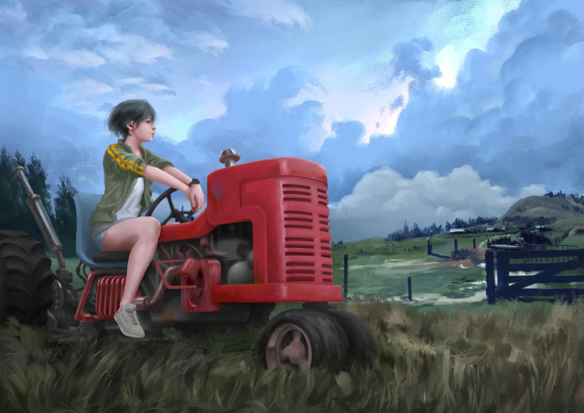 Tan kwang yang tanky tractor girl wip 23