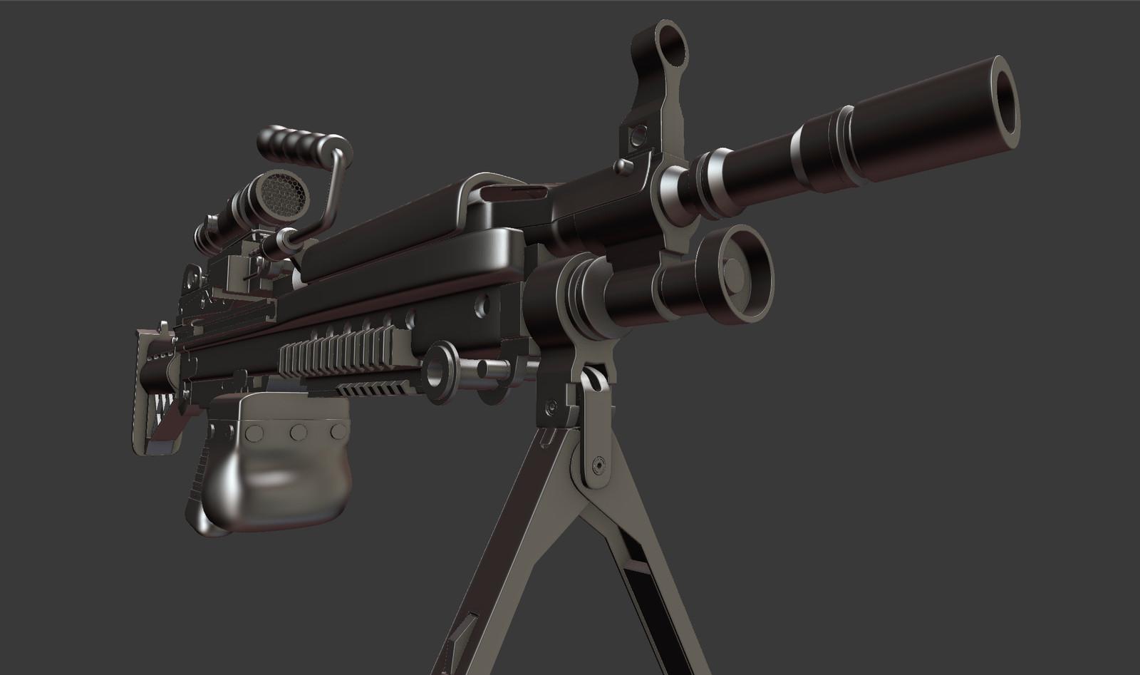 M-249 SAW