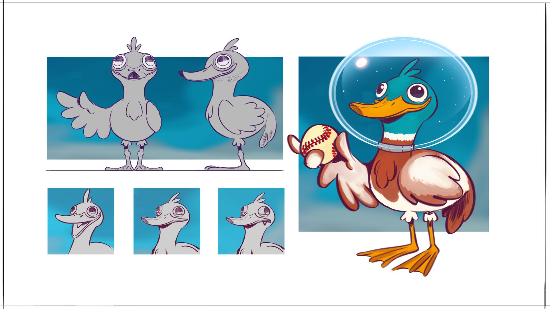 Francesco mazza francesco mazza bongo duck character sheet v01