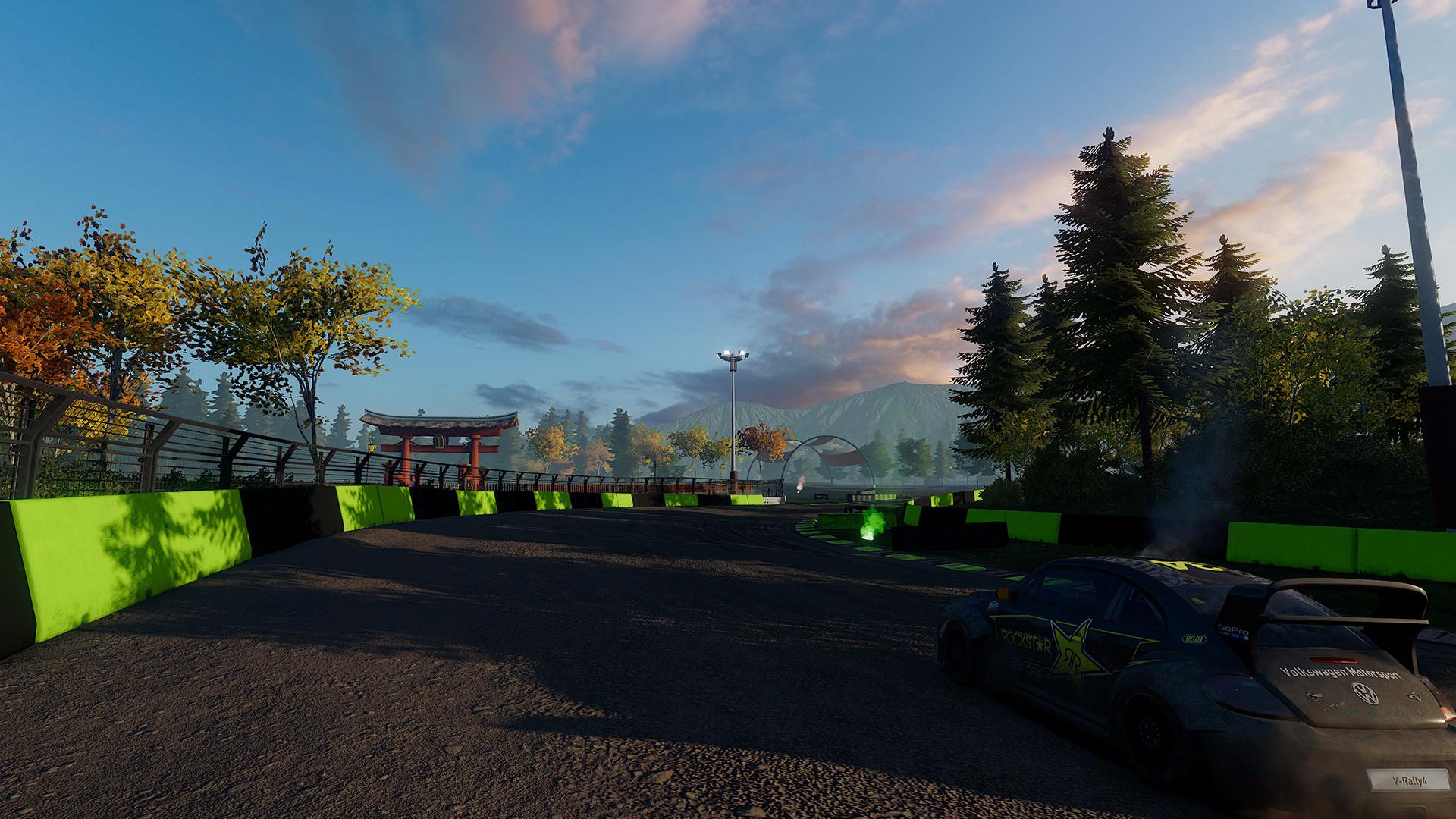 ArtStation - V-Rally 4 - Level Build - RallyCross, Arthur Pin